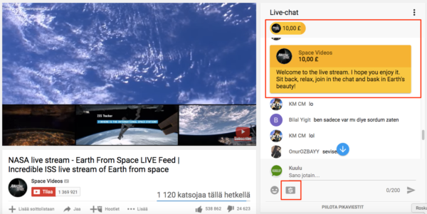 You can view Earth from space on incredible ISS live stream.
